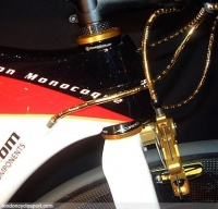 Posh Bikes uses gold coated version light weight M5 brake