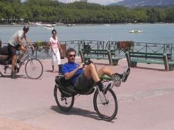 Vakantiefoto's bij het meer van Annecy