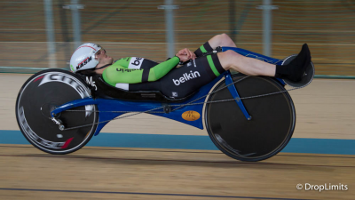 New and absolute world hour record: 57.6 km ( 35,978 miles) for Matthias Konig on a custom M5 Carbon High Racer