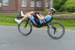 Stijn van de Maele (Belgium) 3 time world champion during HPV World Championships in Mannheim (Germany)
