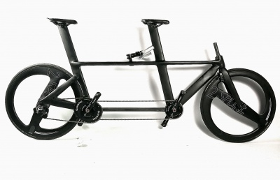 M5 full Carbon road- and track tandems, UCI legal